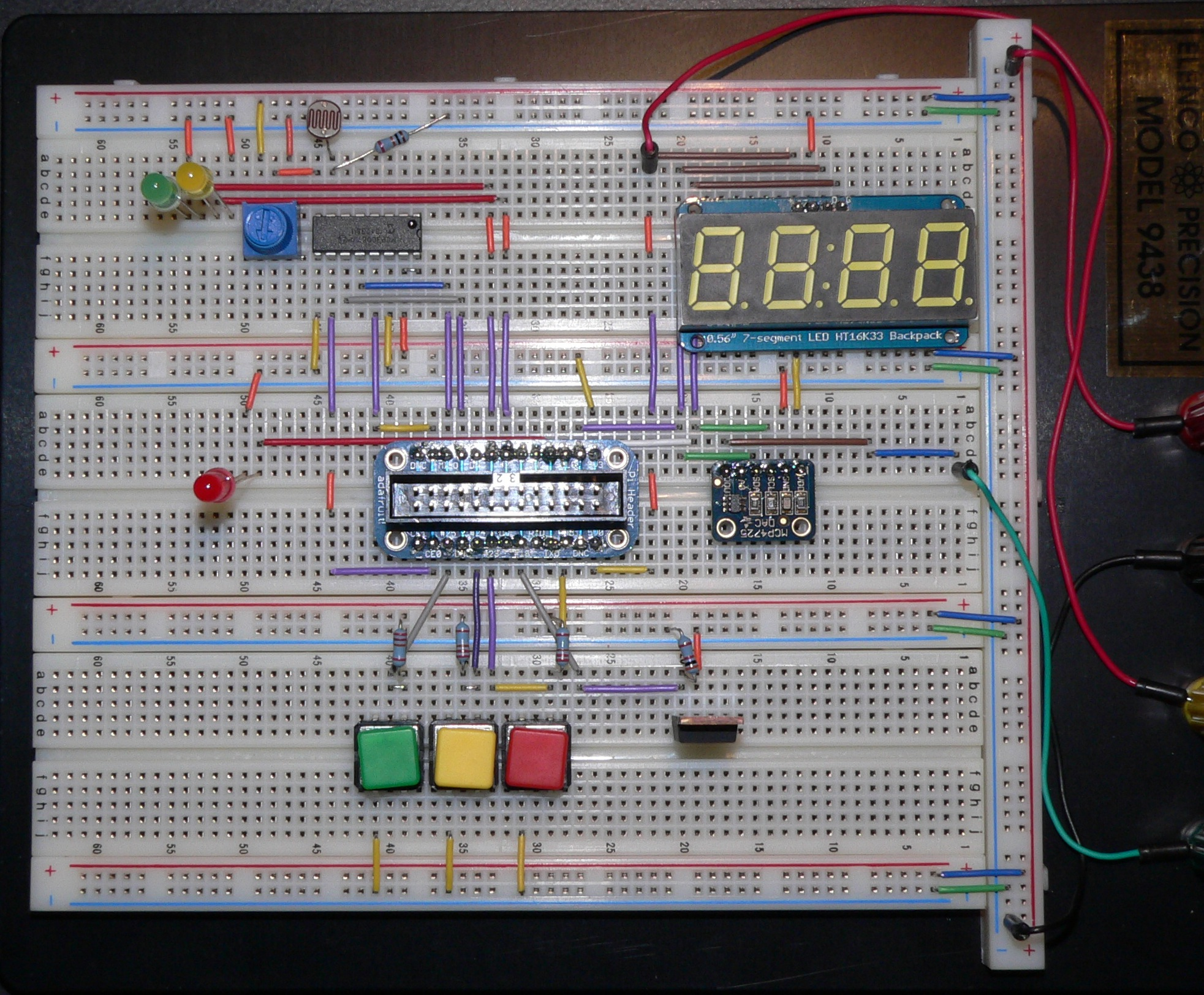 My Breadboard, with a few extra components