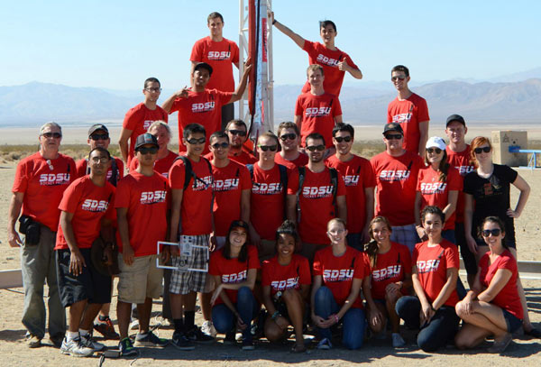 SDSU Rocket Project Team - One of very few schools who have developed a Liquid Fueled Rocket.